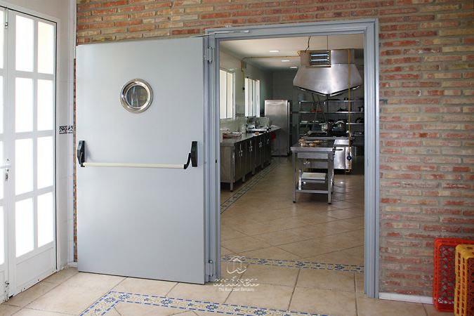 puerta cortafuegos metálica delta
