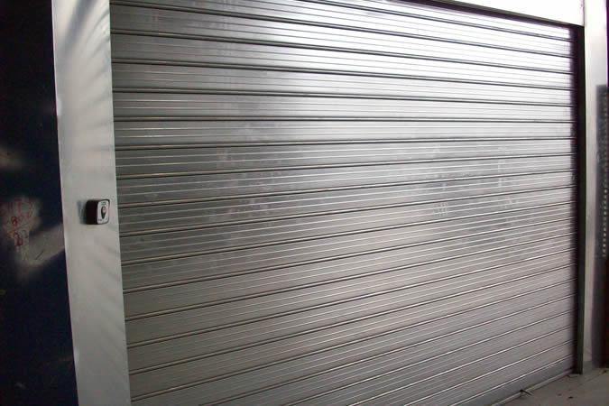 puerta cortafuegos enrollable acero
