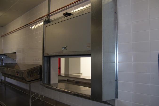 puerta cortafuegos guillotina jordan