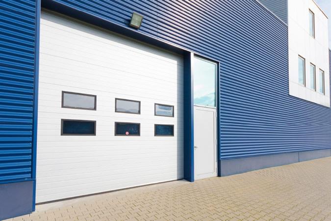 puerta garaje industrial