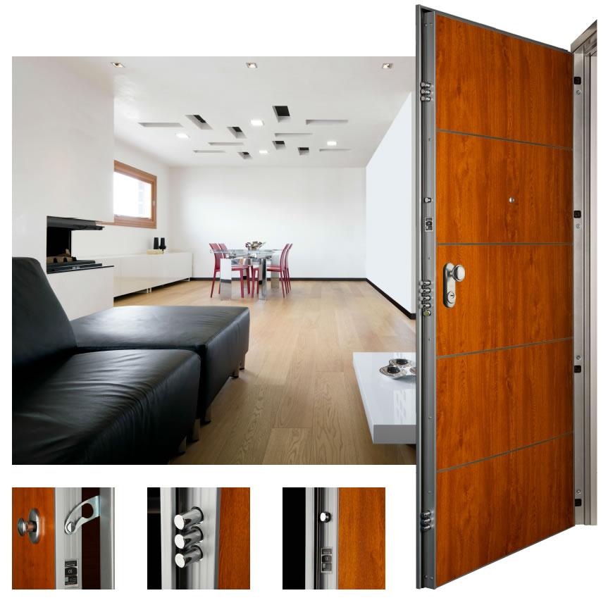 puerta residencial acorazada asso 10