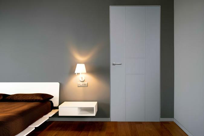 puerta residencial acorazada silence
