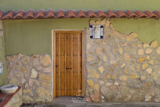 Puerta residencial de seguridad Rustik
